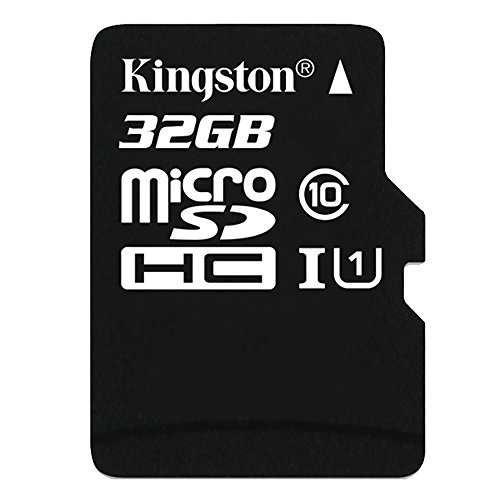 Kingston SDC10G2/32GB Carte MicroSD de 32GB (Classe 10 UHS-I 45MB/s) avec Adaptateur SD