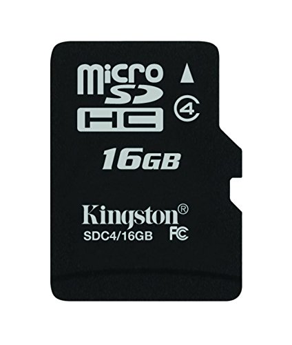 Kingston - SDC4/16GBSP - Carte Micro SDHC - Classe 4 - 16 Go sans Adaptateur