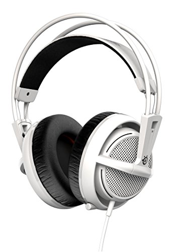 SteelSeries Siberia 200, Casque Gaming, Micro Rétractable, Logiciel de configuration, (PC / Mac / Playstation / Mobile) -  Blanc