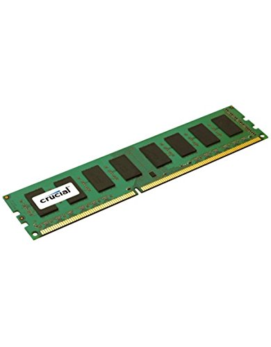 Crucial CT51264BD160B Mémoire RAM 4 Go DDR3 1600 MT/s (PC3-12800) CL11 Unbuffered UDIMM 240pin 1.35V/1.5V