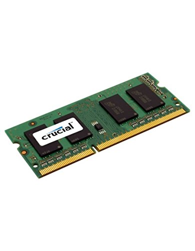 Crucial CT51264BF160B Mémoire de 4GB DDR3L 1600 MT/s (PC3L-12800) SODIMM 204-Pin