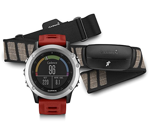 Garmin Fēnix 3 Silver - Performer - HRM-Run - Montre GPS Multisports Outdoor