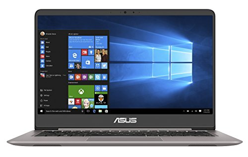 Asus Zenbook UX410UQ-GV159T Ultrabook 14'' FHD IPS Gris métal (Intel Core i7, 16 Go de RAM, Disque Dur 500 Go + SSD 256 Go, Nvidia GeForce 940MX 2G, Windows 10)