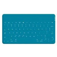 Logitech Keys-To-Go Clavier AZERTY ultra-portable pour iPad, iPhone, Apple TV - Turquoise
