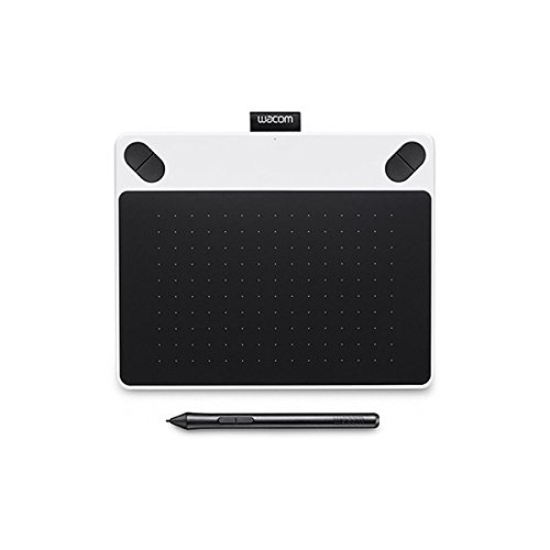 Wacom Intuos Draw - Tablette Graphique à Stylet - Pen Only -  White - Small